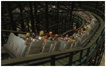New Additions Home Page Thumbnail Image: My Downloads: Coaster: My RCT1 Woodie