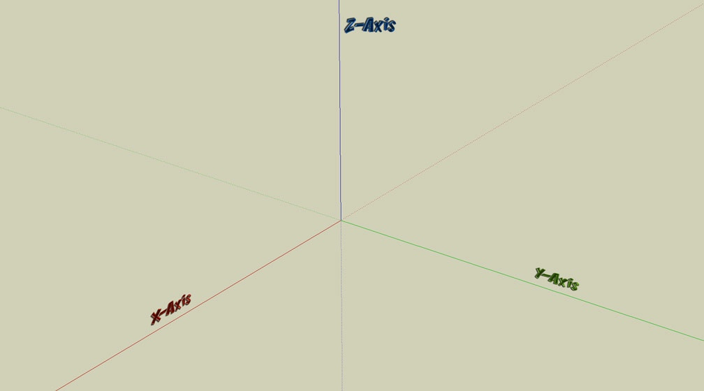3D Plane Reference Slider Image A - How To's: The Compleat Path Creator - Identifying The X=0, The Y=0, And The Z=0 Plane